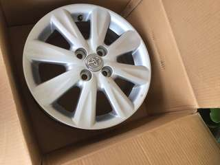 Velg yaris original toyota ring 15