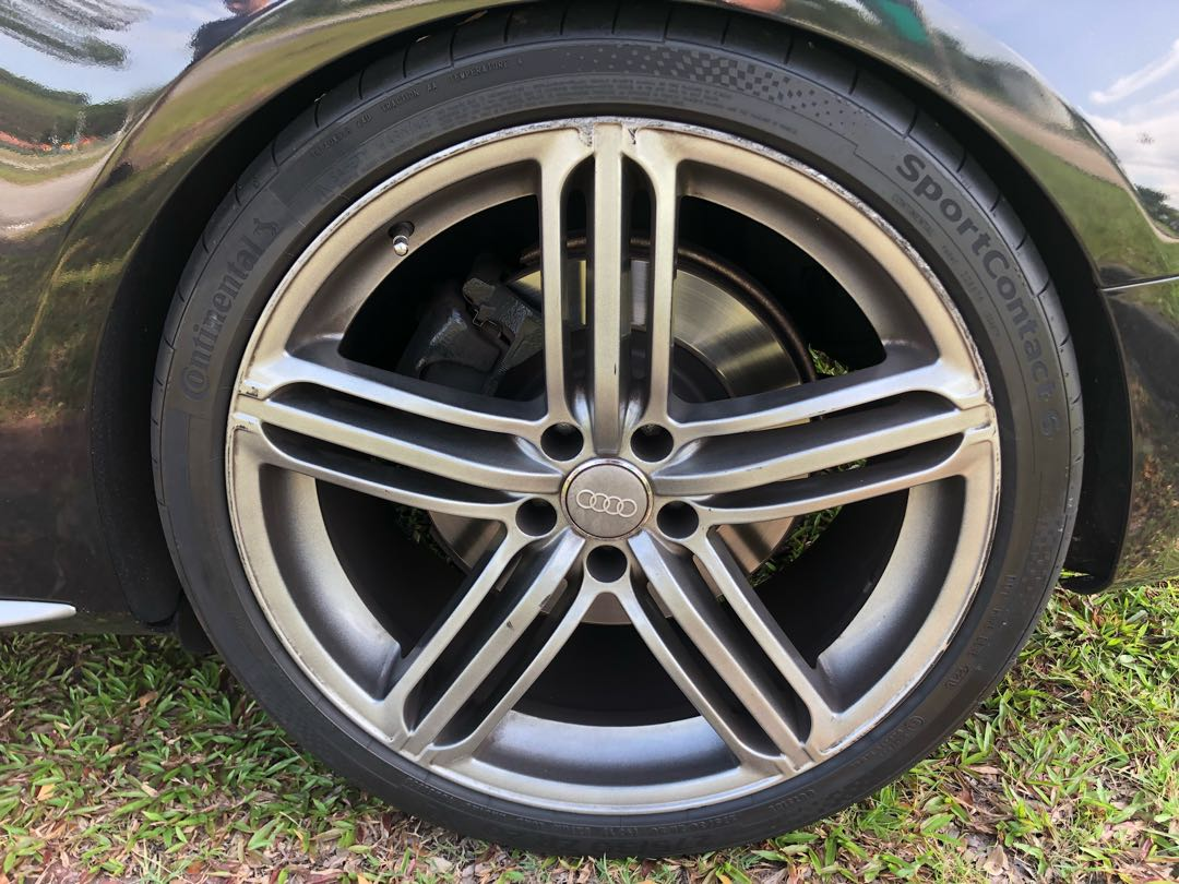 Audi Rims Car Accessories Tyres Rims On Carousell - Audi rims