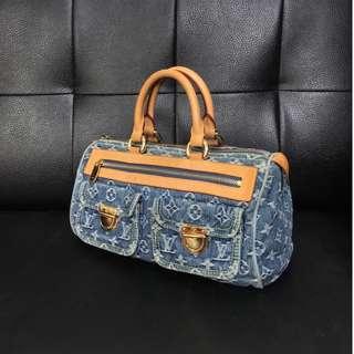 Louis Vuitton 單寧 牛仔 手提包