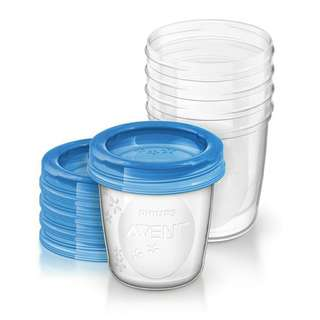 Avent storage cups
