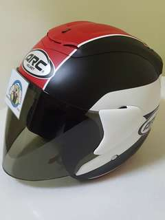 2006*** ARC AR1 TIARA MATT RED with tinted visor Helmet For Sale 😁😁Thanks To All My Buyer Support 🐇🐇 Yamaha, Honda, Suzuki