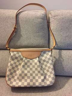 Louis Vuitton LV Siracusa PM in Damier Azur