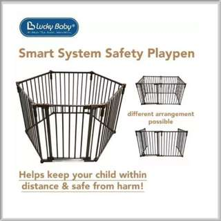 🚚 Lucky Baby Smart System Safety Playpen
