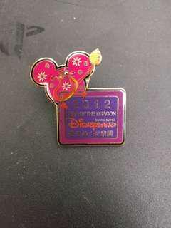 2012香港迪士尼樂園員工限定Pin