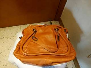 Chloe Paraty two ways handbag