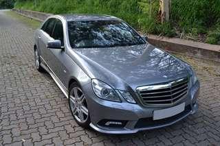 MERCEDES-BENZ E200 2011 AMG