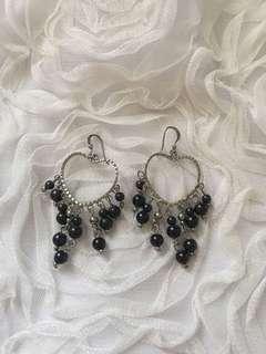 Heart Shaped Dangling Earrings