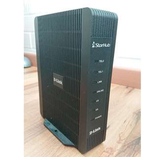 D-Link DCM 3012G Voice-Enabled Cable Modem for Starhub