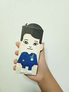 EXO CHEN NATURE REPUBLIC HAND CREAM