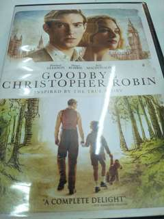 Good bye Christopher Robin movie DVD