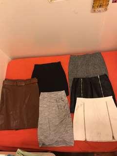 Cotton on H&M ladies pencil skirt