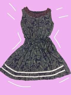 Boho print Sleeveless Dress