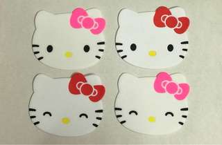 * Ready Stock * Set of 4 Hello Kitty Coasters *