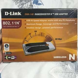 D-Link Rangebooster USB Adapter