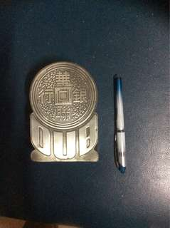 OUB- A piece of history( Royal selangor pewter)