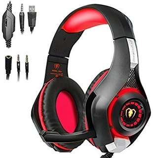 Beexcellent Gaming Headset!!  RED