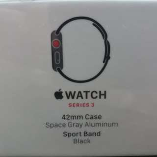 Apple Watch Series 3 (GPS + Cellular) I-watch, brand new!!!