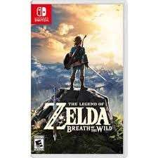 Legend of Zelda for switch rental