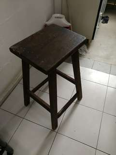 Hand make cabinet and high chair