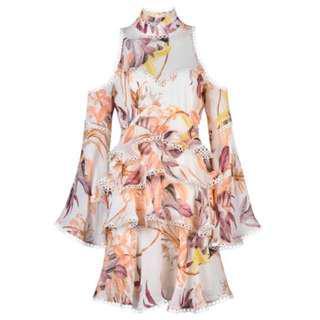 Thurley Magnolia Print Dress Winter 2018