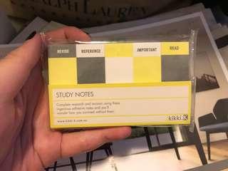 Kikki.K sticky notes