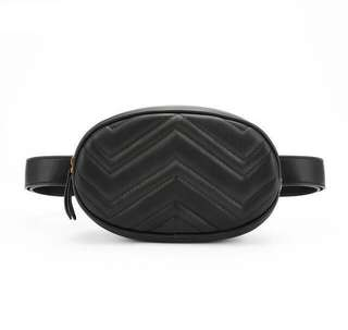 Stylish Black Waist / Belt Bag