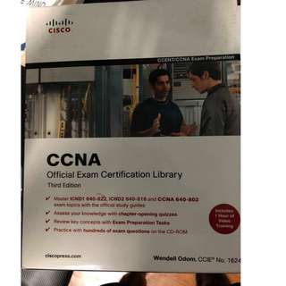 Selling CCNA Textbook package with CD