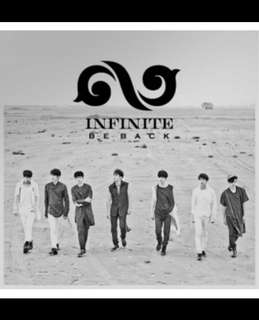 INFINITE - Season 2 [ BE BACK ] REPACKAGE ALBUM