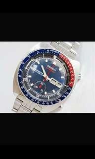 men's watch collector antique SEIKO Chronograph