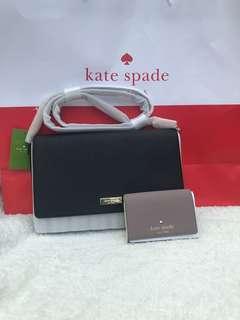 Kate Spade crossbody and wallet set