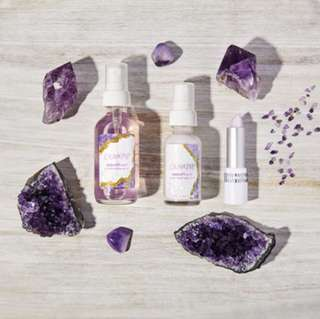 Amethyst set Instock! Colourpop Crystal Collection