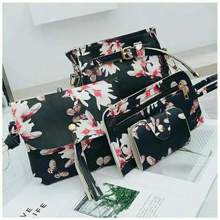 Handbag floral