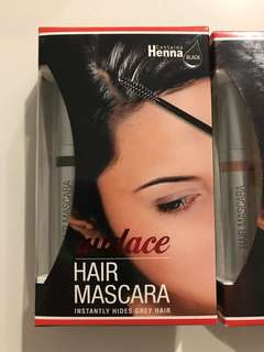 BNIB! Audace Hair Mascara (Instantly Hides Grey Hair)
