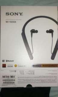 Sony 藍芽耳機WI-1000X❤️