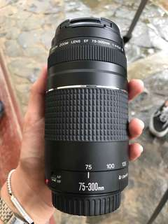 Canon Zoom Lens 75-300MM