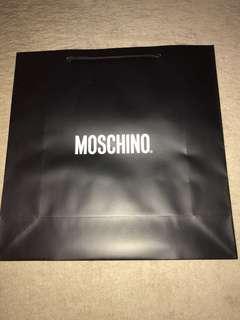 Moschino paperbag