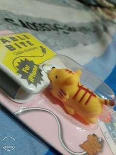 🚚 日本cable blte萌萌動物小老虎充電裝飾