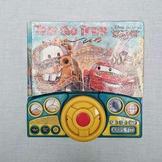 Buku Anak - Tour The Town merk Disney Pixar Cars  (18+ Bulan)