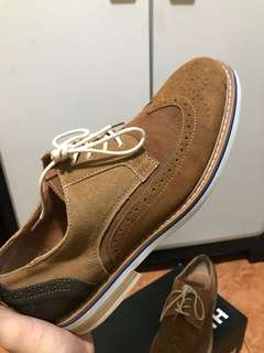 Brown Gamuza Shoes