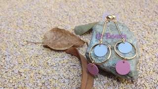 Ear rings 粉色系列耳環