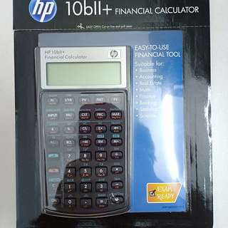 HP 10b11+ financial calculator
