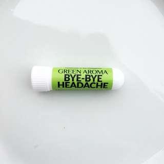 Essential Oil Bye-Bye Headache Aromatherapy Inhaler