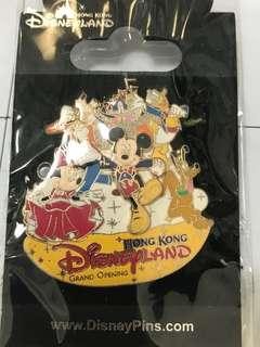 Disney Grand Opening Pin - 迪士尼開幕襟章