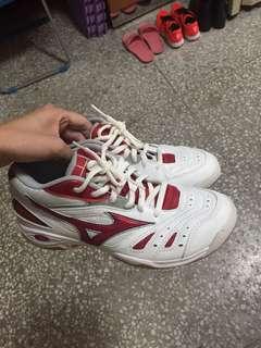 近全新✨ 美津濃 羽球鞋 羽排鞋 23