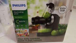 Philips masticating juicer