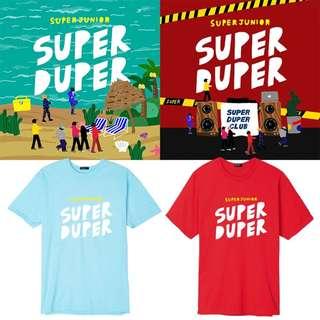 SUPER JUNIOR SUPER DUPER T-SHIRT
