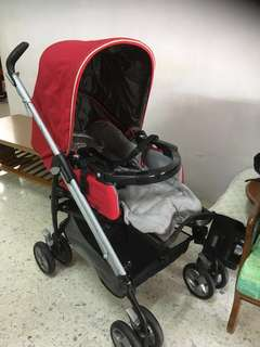 PegPerego Pliko Switch, Stroller + Car seat + Carrier