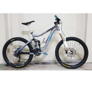 2011 Giant Reign Size M