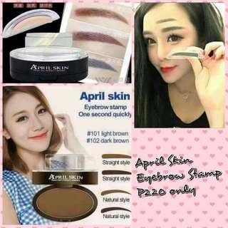 April Skin Eyebrow Stamp