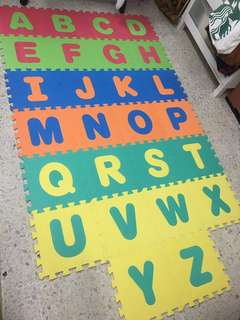 ABC Play Mats (26 Tiles) - Alphabet Puzzle Play Mat